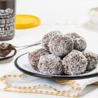 כדורי ממרח השחר העולה - תמרים ושוקולד (טבעוני וללא גלוטן)